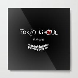 Tokyo Ghoul Japanese Metal Print