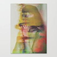 glitch Canvas Prints featuring Glitch by Andreas Lie