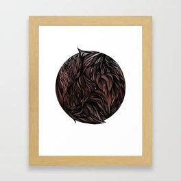 Fur Ball Framed Art Print