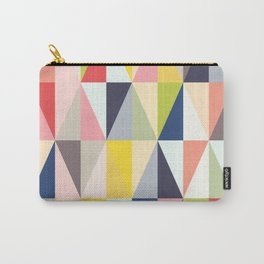 Abstract Geo Diamonds Carry-All Pouch