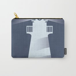 Vintage Lighthouse Carry-All Pouch