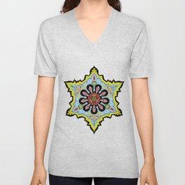Alright linda belcher mandala kaleidoscope Unisex V-Neck