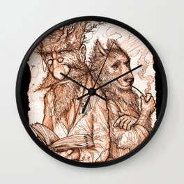 Randil Eadlin and Benjamin Ulfr Wall Clock