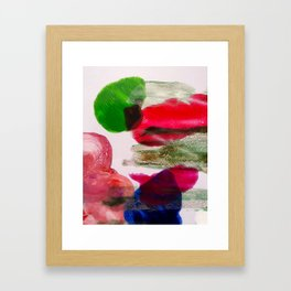Swirls Collection Framed Art Print