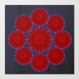 rashím towers gallery mandala Canvas Print