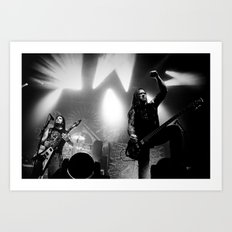 Machine Head Art Print