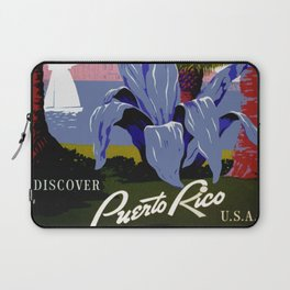 Vintage Puerto Rico Travel Laptop Sleeve