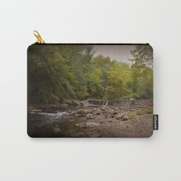 Stormy Waterfall Carry-All Pouch