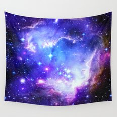 Galaxy Blue Wall Tapestry