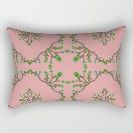 Vine squares Rectangular Pillow