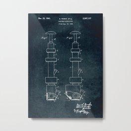 1939 - Electron microscope Metal Print