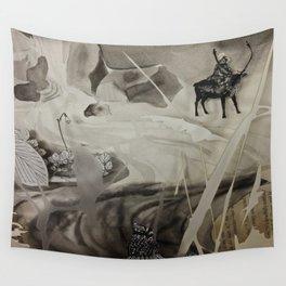Seek- Landscape Shadowbox Detail Wall Tapestry