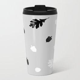 Norse (b/w) Metal Travel Mug