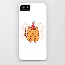 Have A Meowy New Year Happy New Year 2020 Year Of The Rat January 1st Resolution T-shirt Design iPhone Case