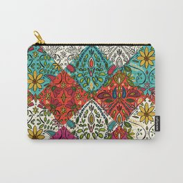 aziza patchwork Carry-All Pouch