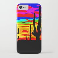 cacti iPhone & iPod Cases featuring Cacti by Relic X