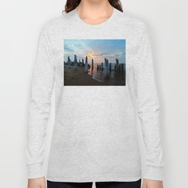 Pillars of the Past at Dusk Long Sleeve T-shirt