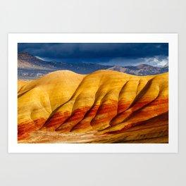 Vivid Hills Art Print