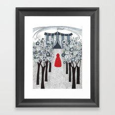 Joining the Circus Framed Art Print