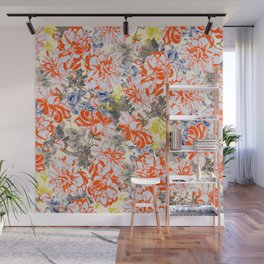 FLOWERY I Wall Mural