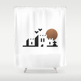 bwahaha! Shower Curtain