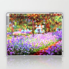 Monets Garden in Giverny Laptop & iPad Skin