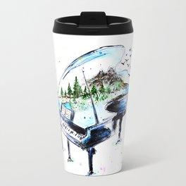 Piano with nature Travel Mug