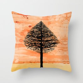Tree Top. Throw Pillow
