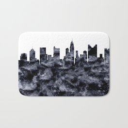 Columbus Ohio Skyline Bath Mat