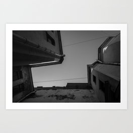 Russian Courtyard Art Print