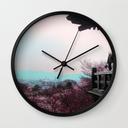 A Glimpse Beyond (Kyoto, Japan) Wall Clock