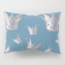 Silver crown Pillow Sham