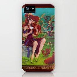 Megara Damsel in Distress iPhone Case