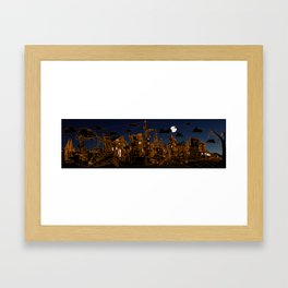 San Francisco! (Night, landscape version) Framed Art Print