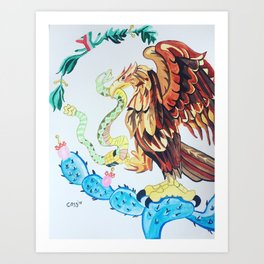 The Wings of Mexico Art Print