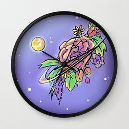 Saturnalia-Capricorn's Sonnet Wall Clock