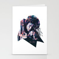 ripley Stationery Cards featuring Ellen Ripley : HARD ACTRESS by mergedvisible
