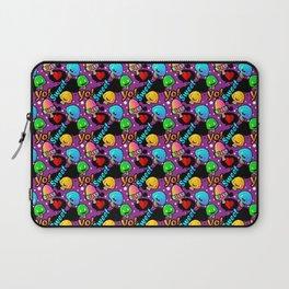 Mushroom Pattern Laptop Sleeve