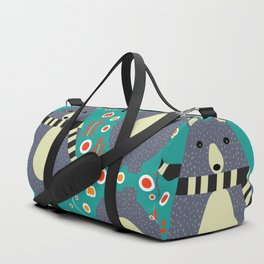 Little bears and flowers Duffle Bag
