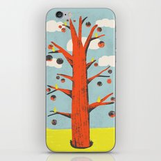 Red Tree, Yellow Birds iPhone Skin