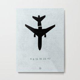 4 8 15 16 23 42 Metal Print