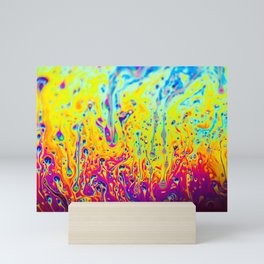 Psychedelic Spectrum Melting Mini Art Print
