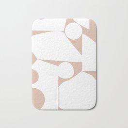 Shape study #16 - Inside Out Collection Bath Mat