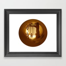 Swing (Balançoire) Framed Art Print