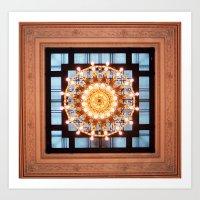 Grand Central Zoom - Light in New York Art Print