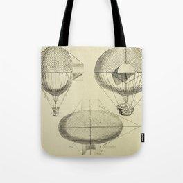 Mathieu's Airship Project Tote Bag