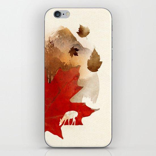 Autmn is coming iPhone & iPod Skin