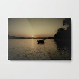 Danube Sunset Metal Print