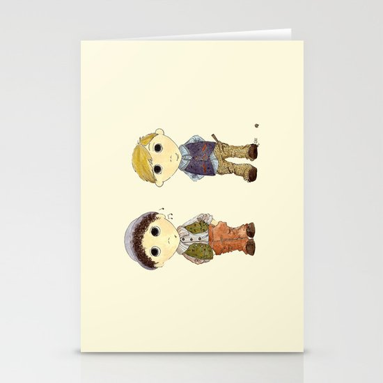 The Twins: Hugo & Harry Stationery Cards