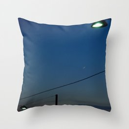 Night Time in Istanbul Throw Pillow